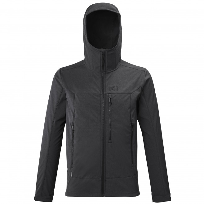 Chaqueta Softshell - Hombre - gris TRACK HOODIE M Millet