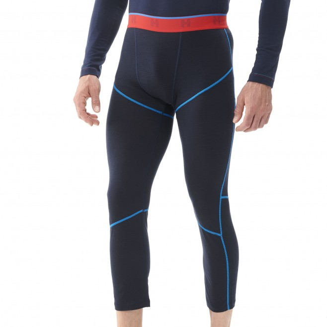 Ropa interior - hombre - azul marino TRILOGY WOOL TIGHT M Millet 2