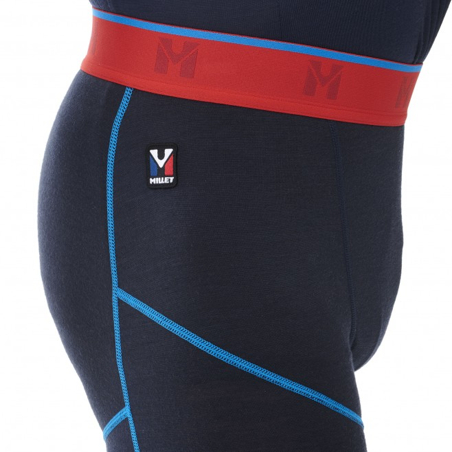 Ropa interior - hombre - azul marino TRILOGY WOOL TIGHT M Millet 4