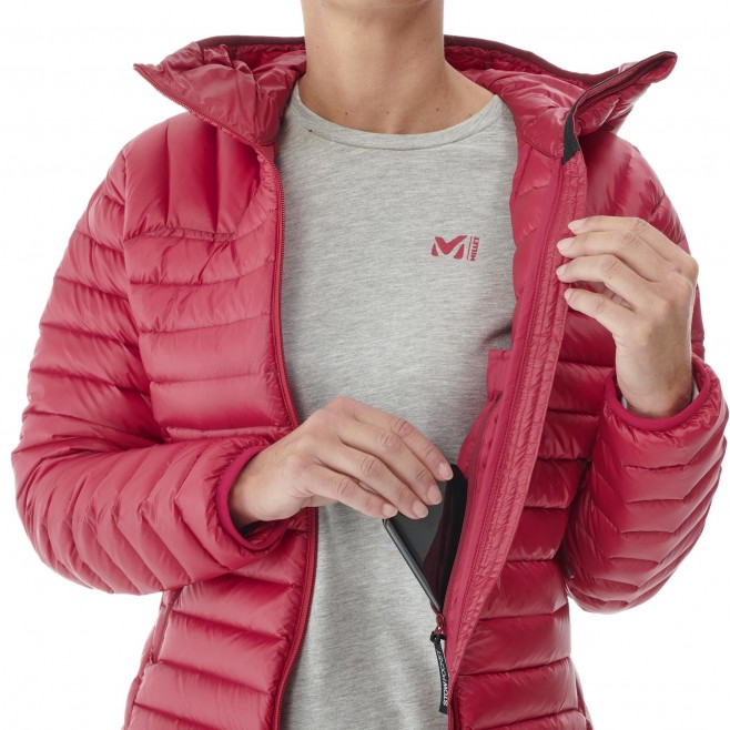 Chaqueta - Mujer - rojo K SYNTH'X DOWN HOODIE W Millet 5