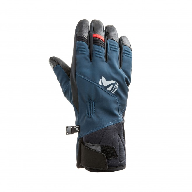 Guantes impermeables - Hombre - azul marino M WHITE PRO GLOVE Millet