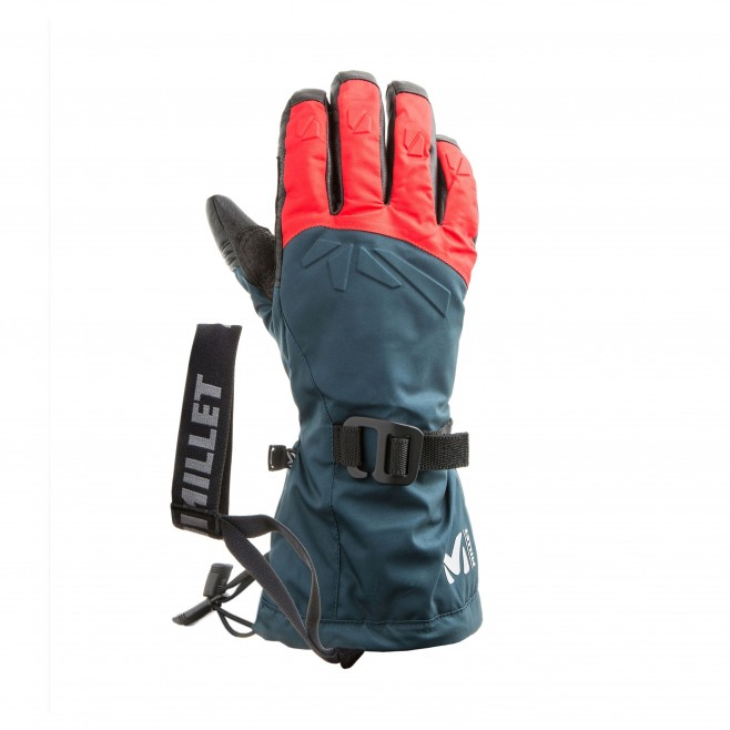 Guantes impermeables - Hombre - azul marino M WHITE GLOVE Millet