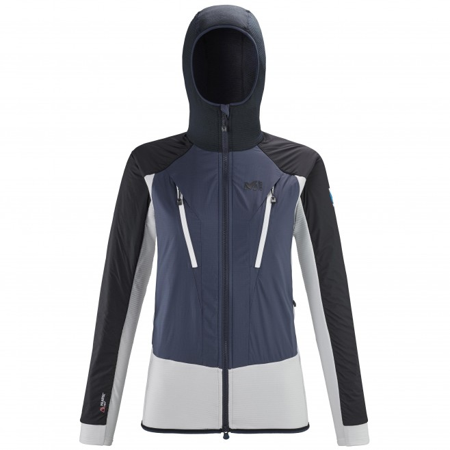 Vellón - Mujer - gris TRILOGY HYBRID ALPHA HOODIE W Millet