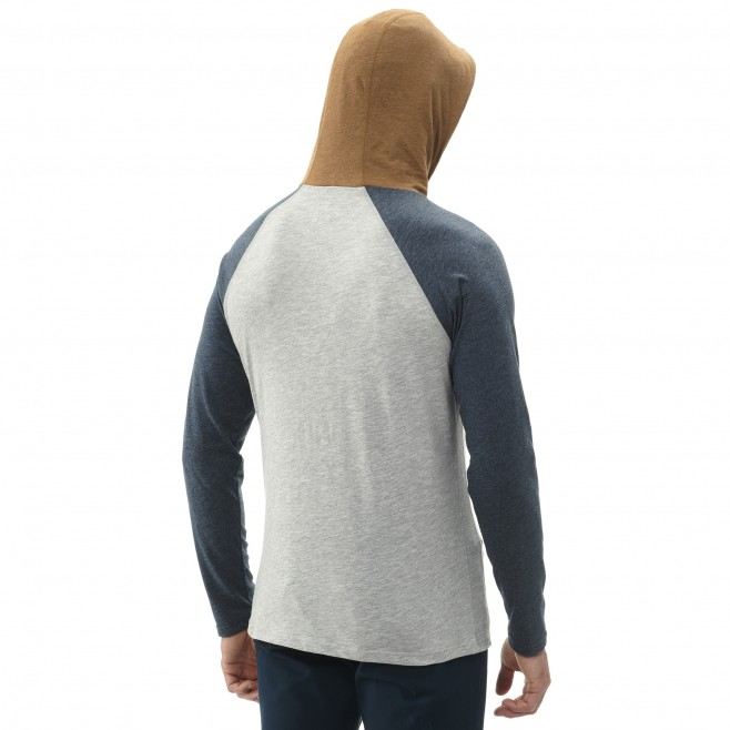 Camiseta - Hombre - gris RED WALL LIGHT HOODIE M Millet 3