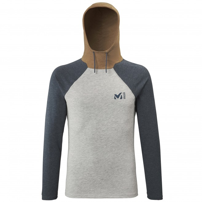 Camiseta - Hombre - gris RED WALL LIGHT HOODIE M Millet