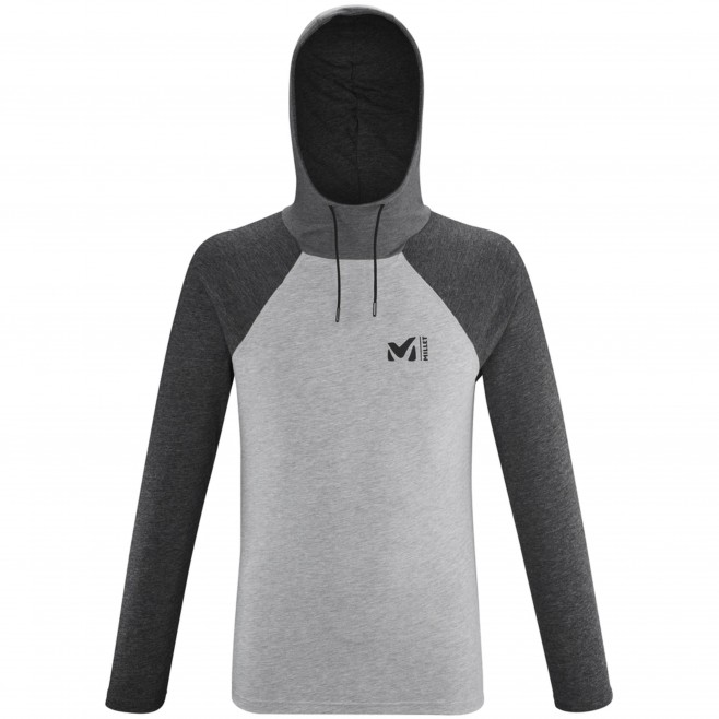 Camiseta para hombre  - gris RED WALL LIGHT HOODIE M Millet