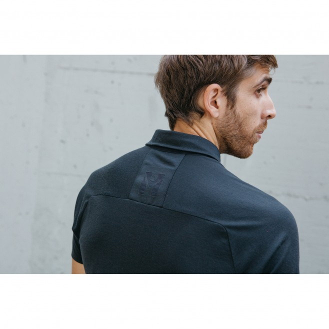 Polo - Hombre - Negro TRILOGY SIGN WOOL POLO M Millet 4