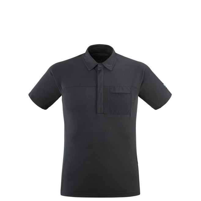 Polo - Hombre - Negro TRILOGY SIGN WOOL POLO M Millet