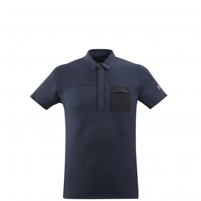 Polo - Hombre - Azul marino TRILOGY SIGN WOOL POLO M Millet