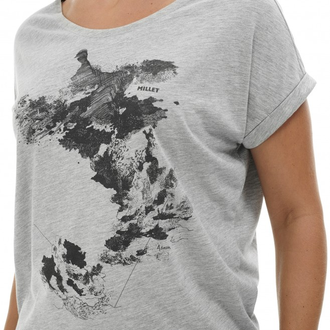 Camiseta - Mujer - caqui ANGEL LIMITED TS SS W Millet 4