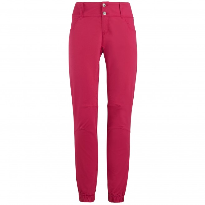 Pantalones elásticos - Mujer - Rojo RED WALL STRETCH PANT W Millet