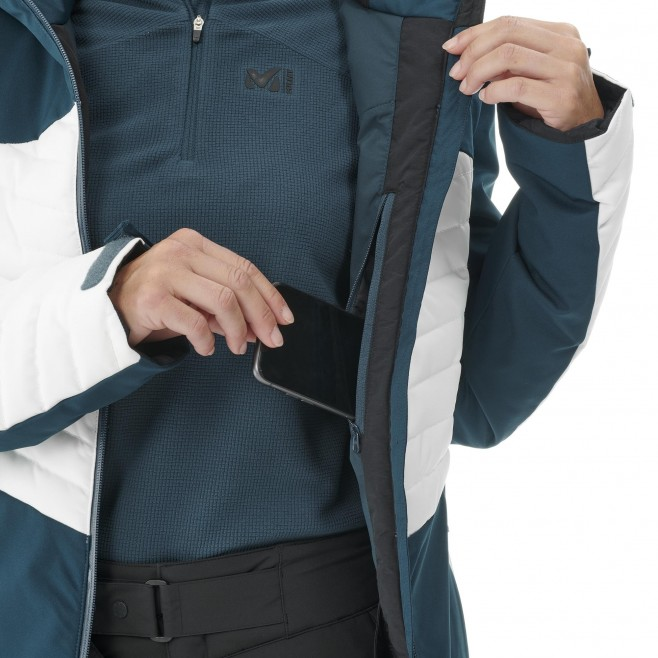 Chaqueta impermeable - Mujer - negro ENGADIN JKT W Millet 5