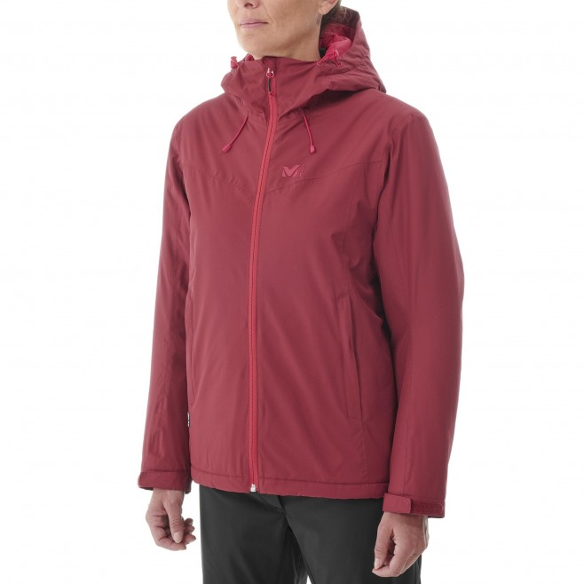 Chaqueta impermeable - Mujer - rojo FITZ ROY INSULATED JACKET W Millet 2
