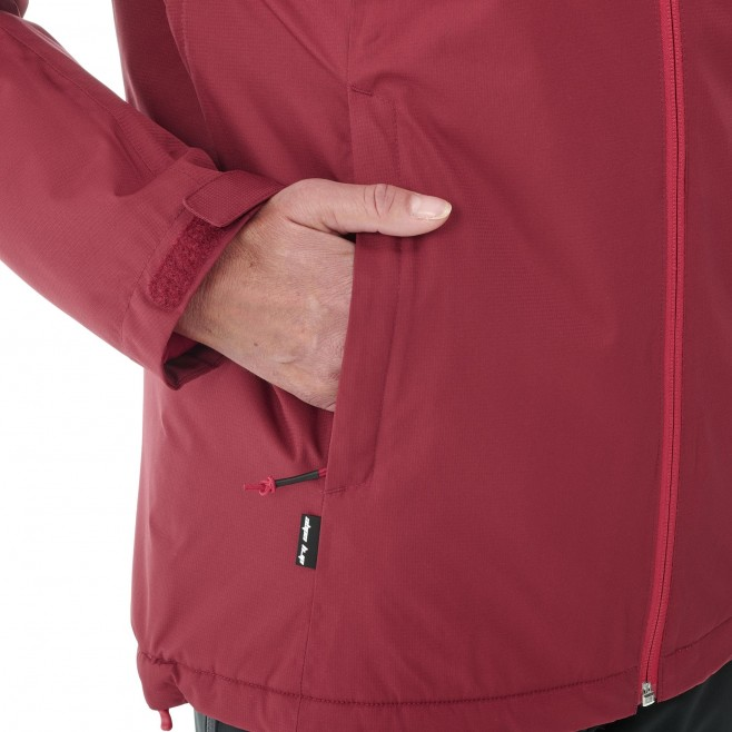 Chaqueta impermeable - Mujer - rojo FITZ ROY INSULATED JACKET W Millet 3