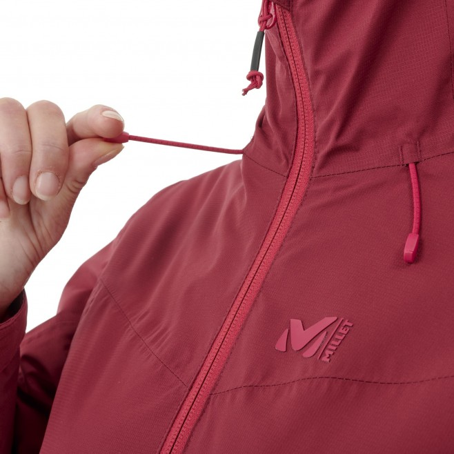 Chaqueta impermeable - Mujer - rojo FITZ ROY INSULATED JACKET W Millet 6