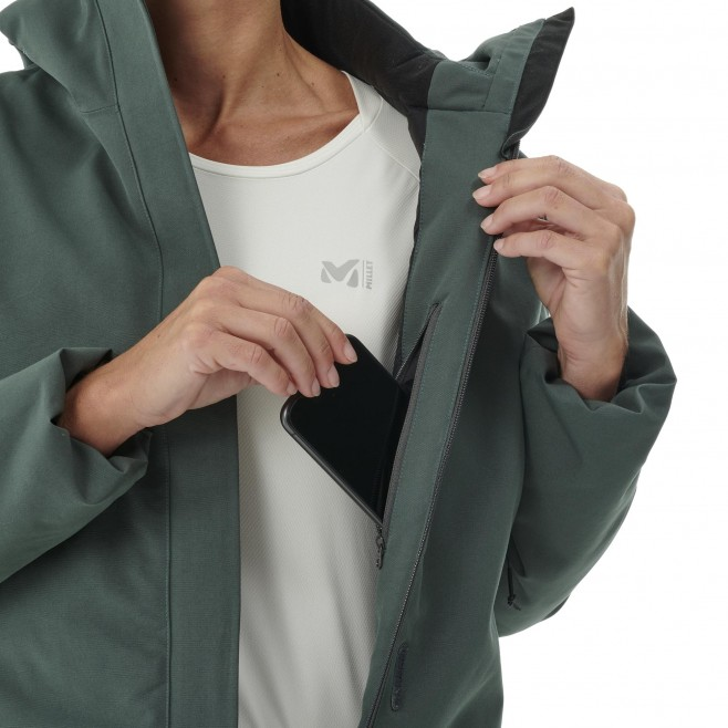 Chaqueta impermeable - Mujer - caqui TENO PARKA W Millet 5