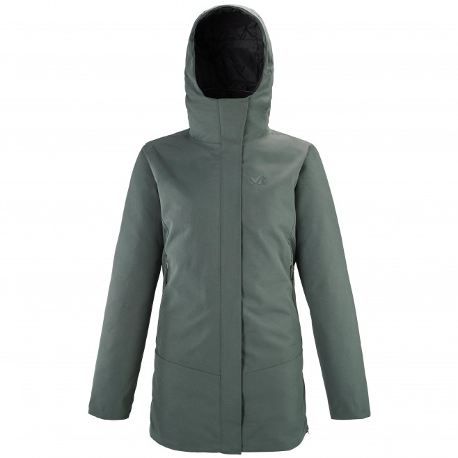 Chaqueta impermeable - Mujer - caqui TENO PARKA W Millet