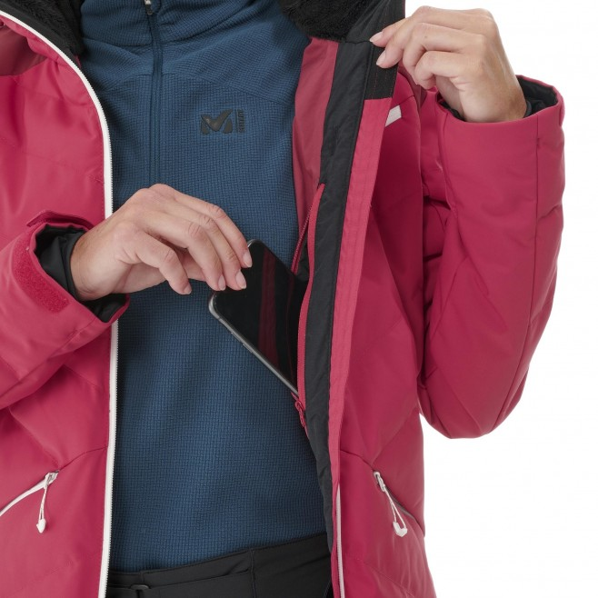 Chaqueta impermeable - Mujer - rojo BAQUEIRA JKT W Millet 6