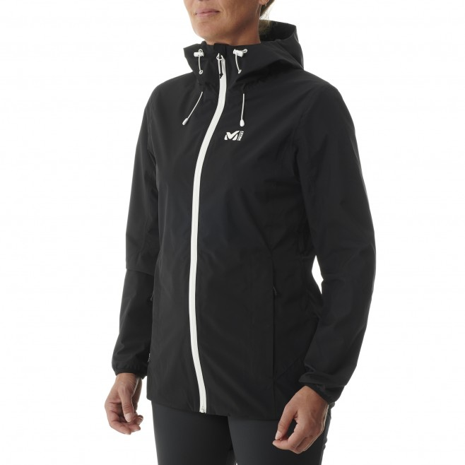 Chaqueta impermeable - Mujer - Negro TOBA 2L JKT W Millet 2
