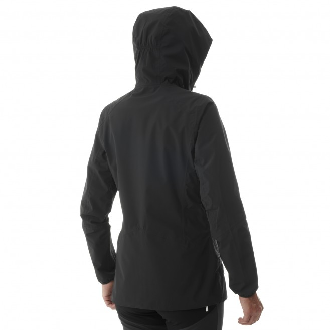 Chaqueta impermeable - Mujer - Negro TOBA 2L JKT W Millet 3