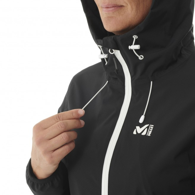 Chaqueta impermeable - Mujer - Negro TOBA 2L JKT W Millet 6