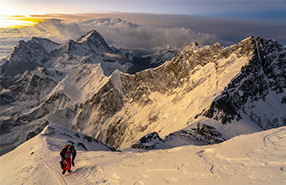 EVEREST - LHOTSE, THE UNACHIEVED TRAVERSE