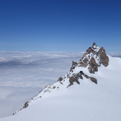 The Aiguille Verte story in a movie
