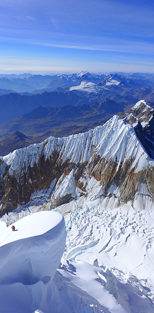 Two major opening routes in Peru by the GMHM