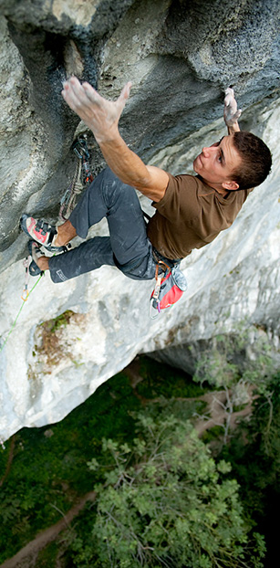 Mathieu Bouyoud in Apocalypse Now (9a)