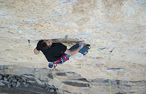 Matty Hong made 3 routes, 5.14d in Rifle, Colorado