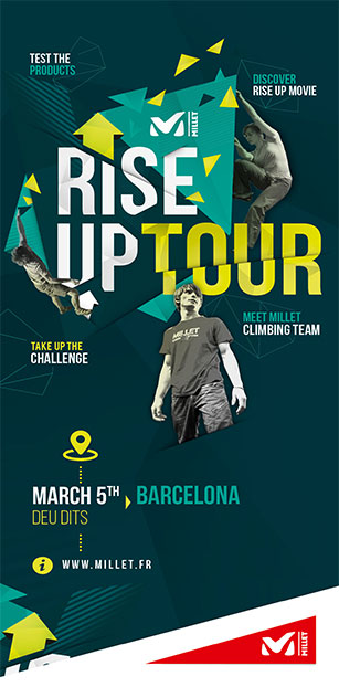 The Millet Rise Up Tour is launched!