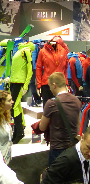Back up on the famous Munich Ispo Exhibition