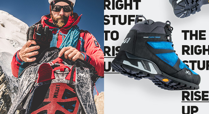 Millet creates apparel and equipment for mountaineers since