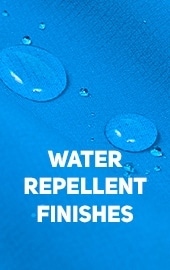 Water repellent finishese