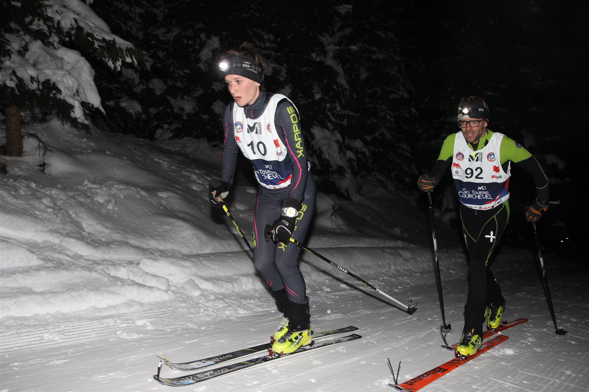 Millet Ski Touring Courchevel - Elsa Nodet