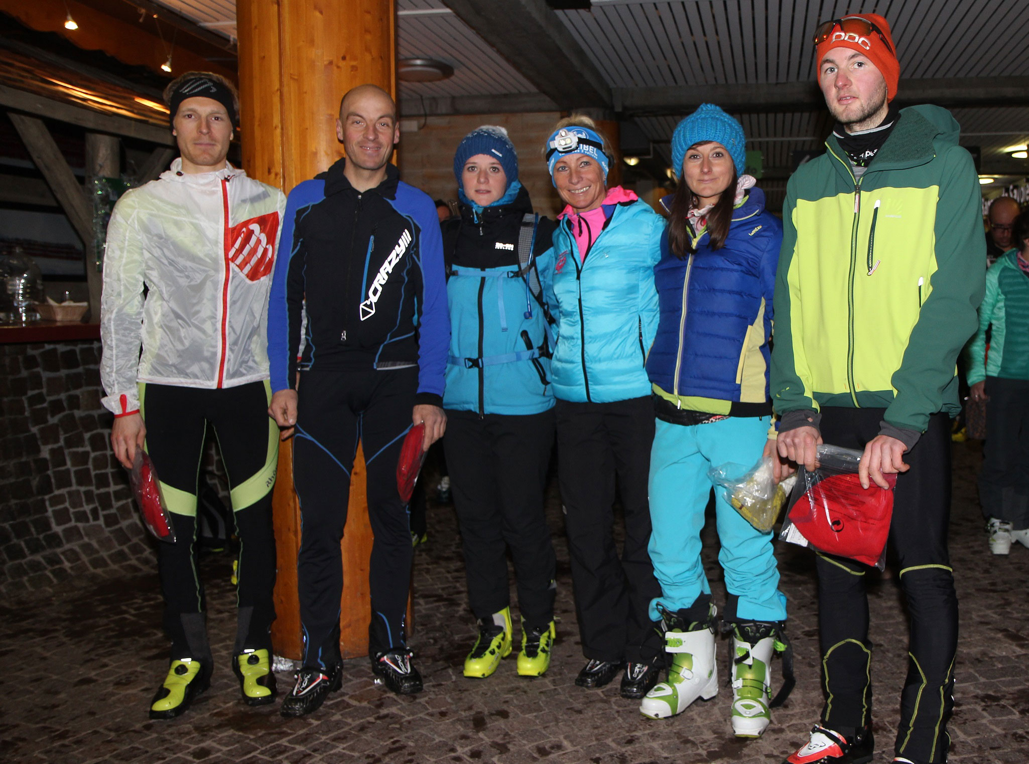 Millet Ski Touring Courchevel, 6th round mcst podium