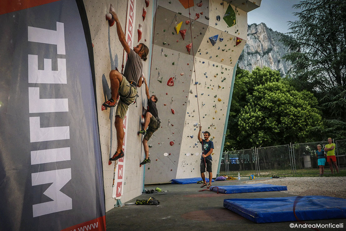 MILLET RISE UP TOUR IN ARCO, ITALY