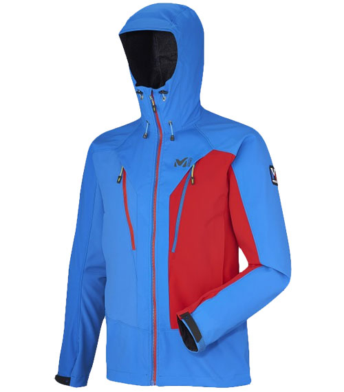 Millet mountaineering sofshell jacket