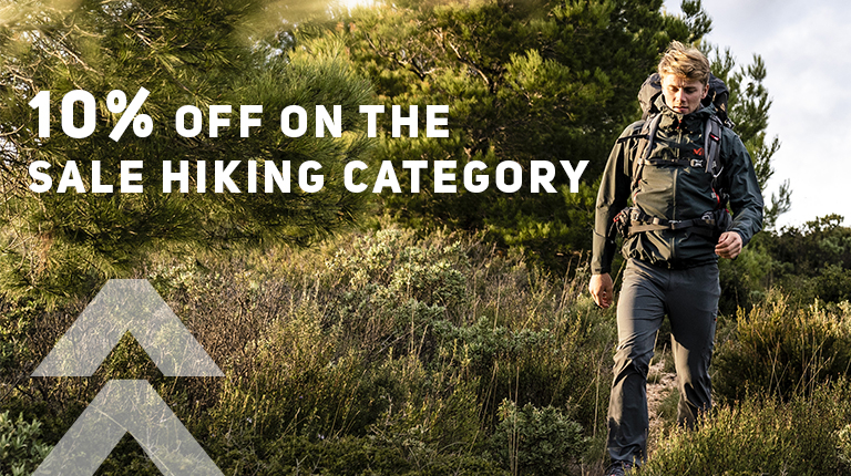 10% off hiking