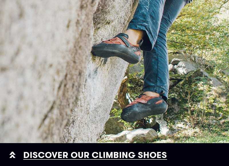 Discover our climbing shoes