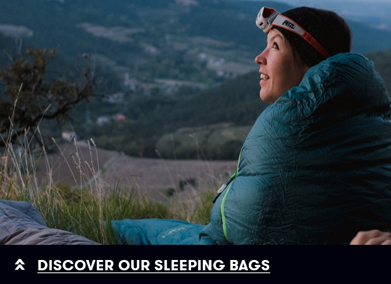 Discover our sleeping bags