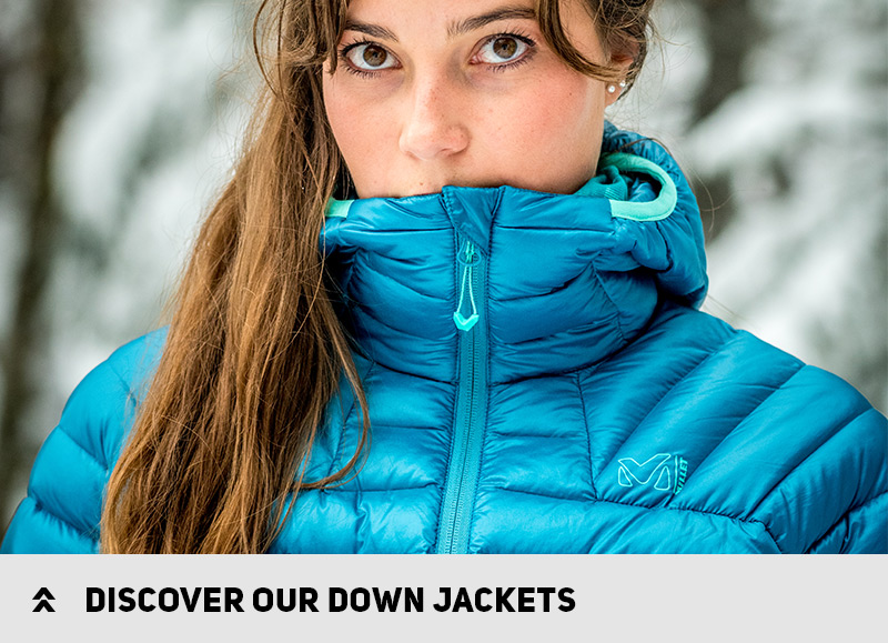 Discover our down jackets