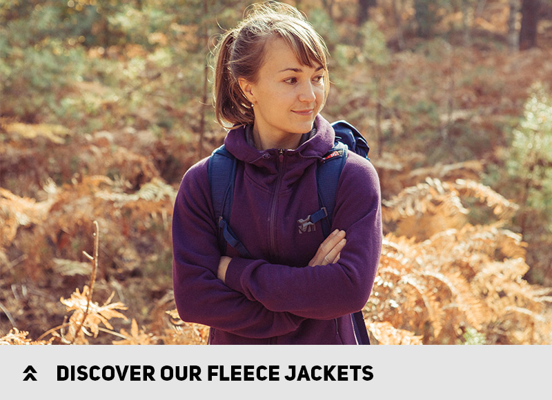 Discover our fleece jackets