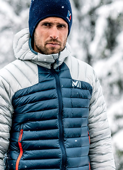 Mountaineering down jackets