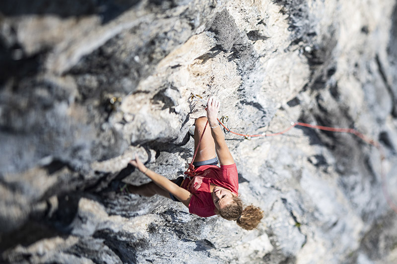Women climbing products