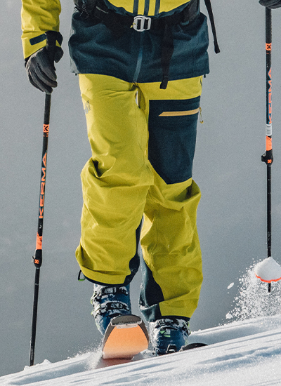 Pants for skiing