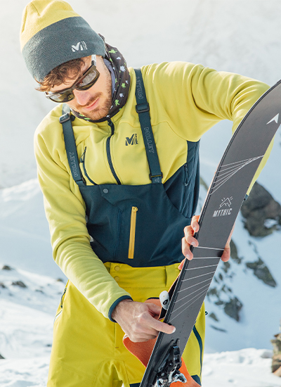 Fleeces jackets for skiing