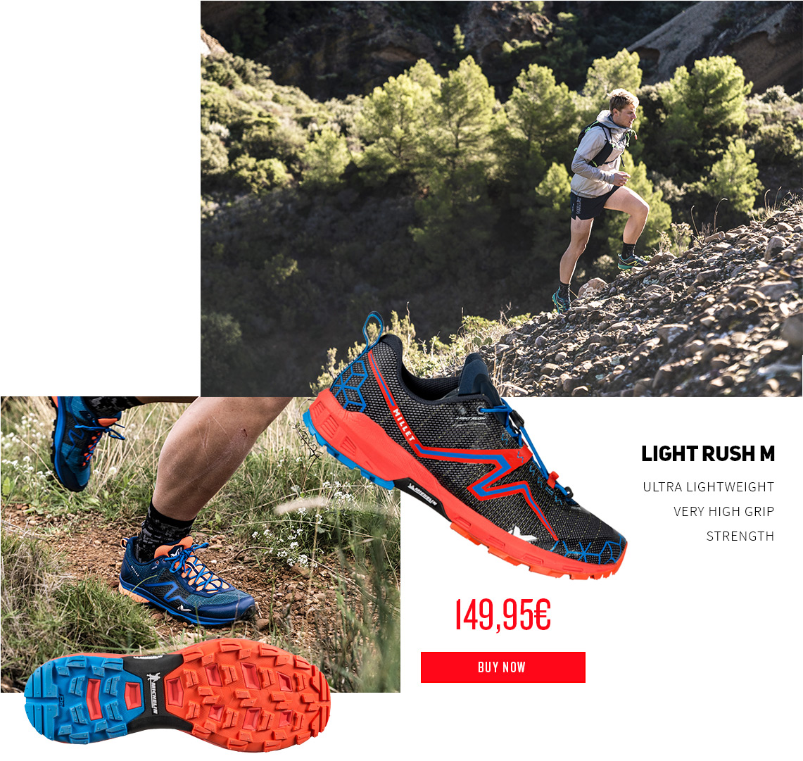 Chaussures de trail Light Rush
