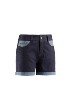 Lady rocas denim short